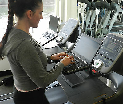Dr. Mccabe's Treadmill Desk (small scratch). Adapts to most treadmills instantly