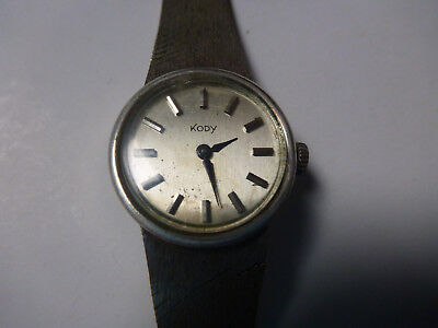 WATCH MONTRE KODY vintage old silver plated? woman ladies femme fille mecanique