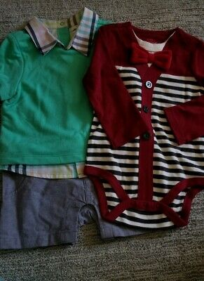 0b9cf1c2be22 BABY BOY CAT   Jack lot 2 One Pieces Size 6-9 Months -  3.00