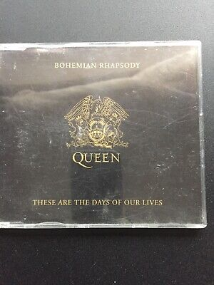 Queen Bohemian Rhapsody/these Are The Days Of Our Lives Cd Single Good Condition