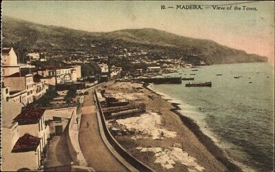 Ak Insel Madeira Portugal, View of the Town, Gesamtansicht,... - 950751