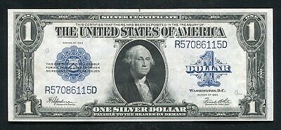 """Fr. 237 1923 $1 One Dollar """"Horseblanket"""" Silver Certificate About Uncirculated"""