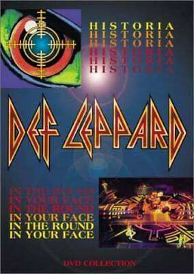 Def Leppard - Historia / In the Round, In Your Face by Def Leppard