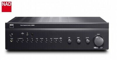 NAD C 356BEE Graphite Vollverstärker mit NAD MT1 WLAN Streaming Modul Net Radio