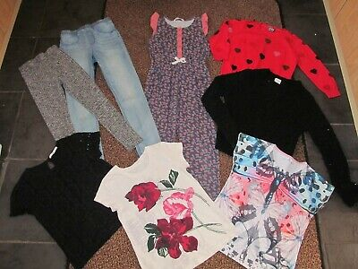 Girls size 9-10 years clothing bundle