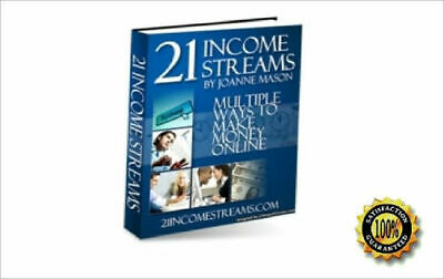 21 Income Streams PDF eBook with lots of Earnings !!!