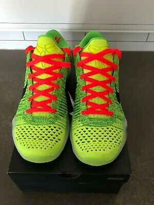 73c40e72d417 NIKE ID ZOOM Kobe X 10 Elite GRINCH Brand New DS Sz 9.0 -  245.00 ...