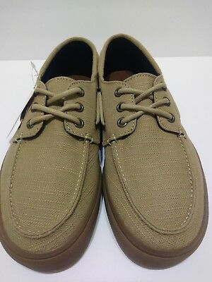 aeb7b05f03 New Vans Chauffeur Sf Hemp Khaki Gum Rasta Shoes Mens 7 Surf Siders Sk8 Nib