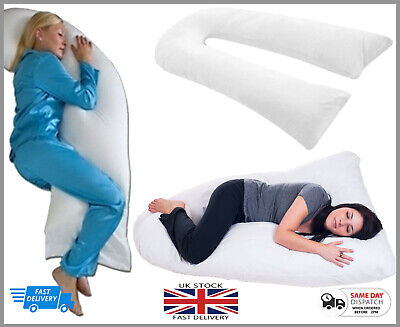 9ft & 12ft U Shaped Pillow Total Body Comfort Ideal for Pregnancy & Maternity