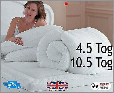 New Summer Soft Luxury Hollowfibre Anti-Allergenic Quilt Hotel Quality Duvet