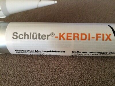 KERDI FIX Compound • Grey (100ML) tube  with applicator schluter systems