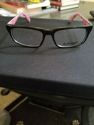 cd9ef9a6500 FULL FRAME REAL TREE APC Eyeglasses Frames Black And Pink Camo ...