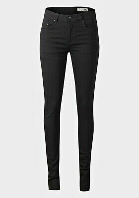 Ladies Black Skinny High Waist Jeans Jeggings Brand NEW