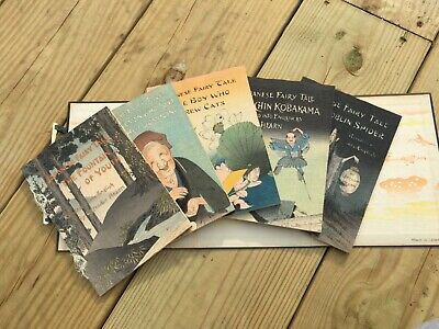 Lafcadio Hearn Japanese Fairy Tales 5 Books in Wrap Around Cover- Hasegawa