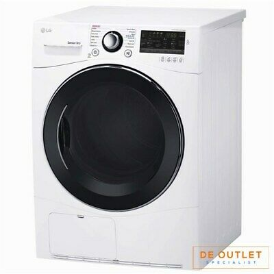 LG DLEC888W Compact Dryer