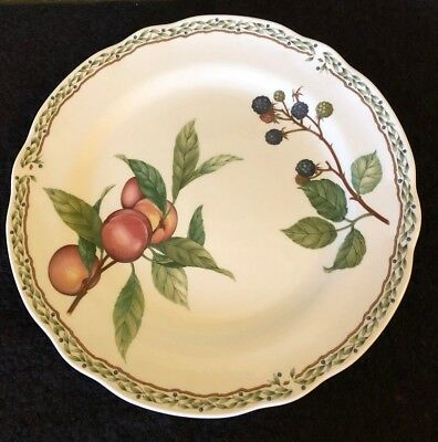 "Noritake China Royal Orchard Dinner Plate 10 1/2"" Fruit - Blue Back Stamp #9416"