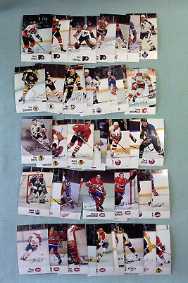 1988-89 Esso NHL All Star Collection Complete set of 48 Mini Cards Canada