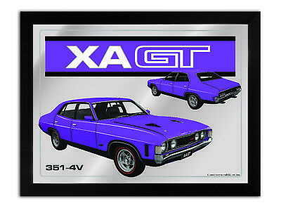Bar Mirror-Picture-Art Suit Xa Gt 4 Door Purple Enthusiast A3 Size 450Mm X 350