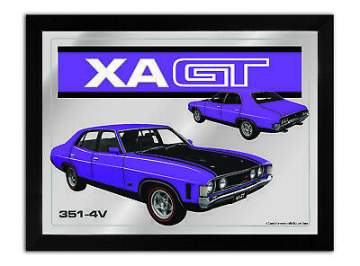 Bar Mirror-Picture-Art Suit Xa Gt Sedan Purple Enthusiast A3 Size 450Mm X 350