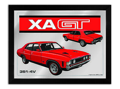 Bar Mirror-Picture-Art Suit Xa Gt 4 Door Red Enthusiast A3 Size 450Mm X 350