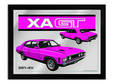 Bar Mirror-Picture-Art Suit Xa Gt 4 Door Plum Enthusiast A3 Size 450Mm X 350