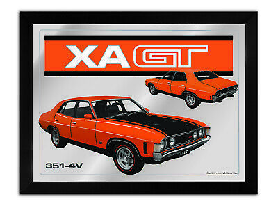 Bar Mirror-Picture-Art Suit Xa Gt Sedan Orange Enthusiast A3 Size 450Mm X 350Mm