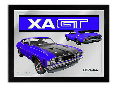 Bar Mirror-Picture-Art Suit Xa Gt Coupe Purple Enthusiast A3 Size 450Mm X 350Mm
