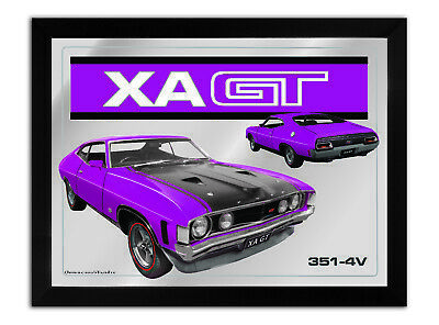 Bar Mirror-Picture-Art Suit Xa Gt Coupe Plum Enthusiast A3 Size 450Mm X 350Mm