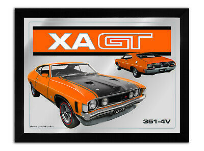 Bar Mirror-Picture-Art Suit Xa Gt Coupe Orange Enthusiast A3 Size 450Mm X 350Mm