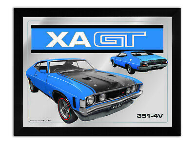 Bar Mirror-Picture-Art Suit Xa Gt Coupe Blue Enthusiast A3 Size 450Mm X 350Mm