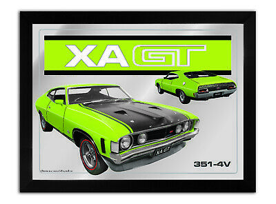 Bar Mirror-Picture-Art Suit Xa Gt Coupe Lime Enthusiast A3 Size 450Mm X 350Mm