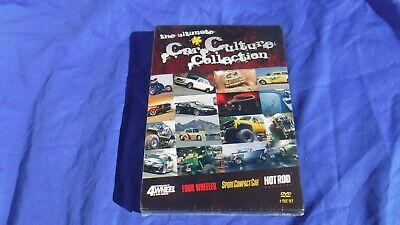 The Ultimate Car Culture Collection 4-DVD Set BRAND NEW & factory sealed!!!