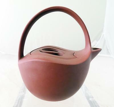 Vintage Chinese Yixing Teapot Red Clay Marked 1 Cup