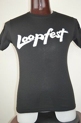 Loopfest Chicago Radio Rock WLUP The Loop 97.9 S Mens Graphic T Shirt Black