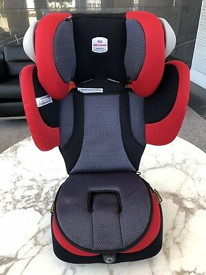 Safe-n-Sound Booster Seat Encore 10 Mars Red 4 years to 8-10 years old