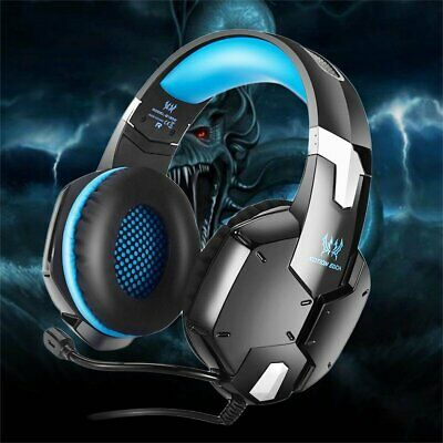 EACH G1200 Game Gaming Headset 3.5mm Stereo for PC Mac Headphone Microphone