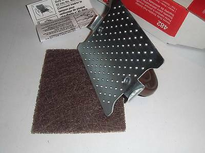 3M Heavy Duty Griddle Pad Holder Kit (1 Holder + 1 pad) - Model 482 - NEW