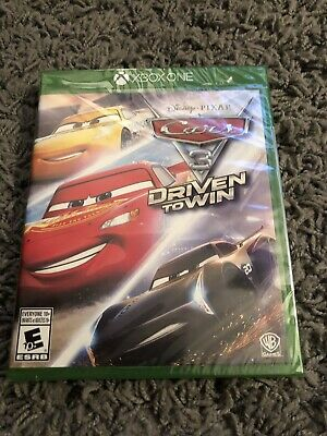 Cars 3: Driven to Win (Microsoft Xbox One, 2017) Brand New!