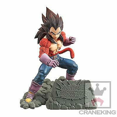 DRAGONBALL Z DOKKAN BATTLE 4TH Figure Super Saiyan 4 Vegeta Anime JAPAN 2019
