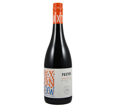 Paxton 2018 NOW Preservative Free Shiraz