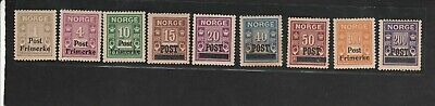 Lot  Norway  6 MH