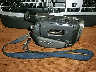 AS IS Sony Handycam CCD-TRV37 8mm Video8 HI8 HI 8 Camcorder (Parts or Repair)