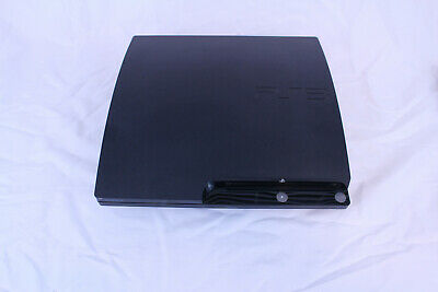 SONY PLAYSTATION 3 PS3 Slim 120gb CECH-2001A Video Game Console NO  CONTROLLER
