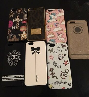 Apple iPhone 6/6S Custodia DSquared 2, Just Cavalli, Chanel, Michael Kors