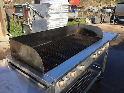 catering gas bbq propane commercial 600 x 1300 cooking space