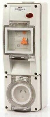 Iso SOCKET WITH RCD 500V 4-Pin Round, Surface Mount, Resistant Orange-10A Or 20A