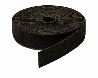 "3/4"" Inch Roll Hook and Loop Reusable Cable Ties Straps 5M 15ft 10 Pack"