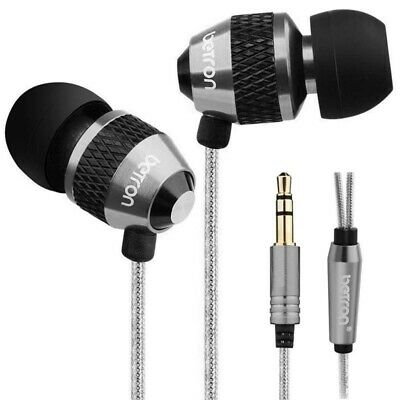 Betron B25 Noise Isolating In Ear Headphones Earphones With Pure Sound - Black