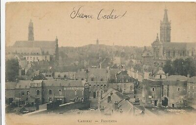 CPA - France - (59) Nord - Cambrai - Panorama