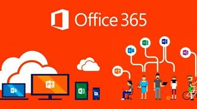 INSTANT DELIVERY Microsoft Office 365 2016 2019 Pro PC/Mac 5TB User Lifetime